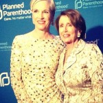 Cecile Richards and Nancy Pelosi