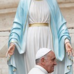 pope and mary