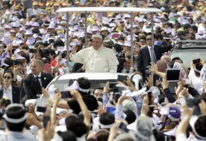 Pope Francis visit to South Korea