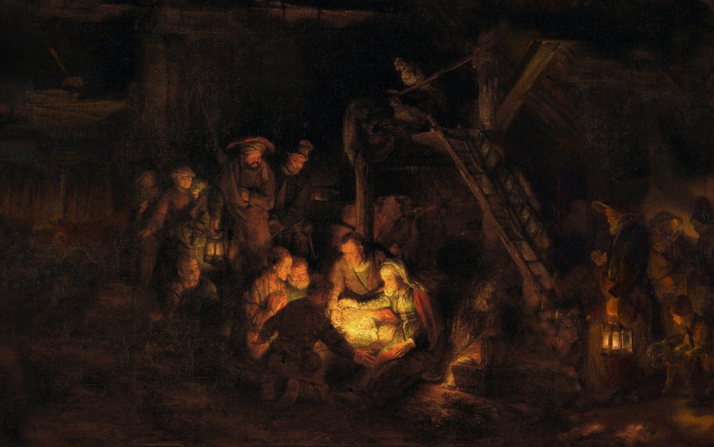 Rembrandt - Adoration of the Shepherds