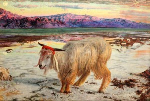 The Scapegoat - Wm. Holman Hunt