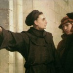 Martin Luther at the Wittenberg Door