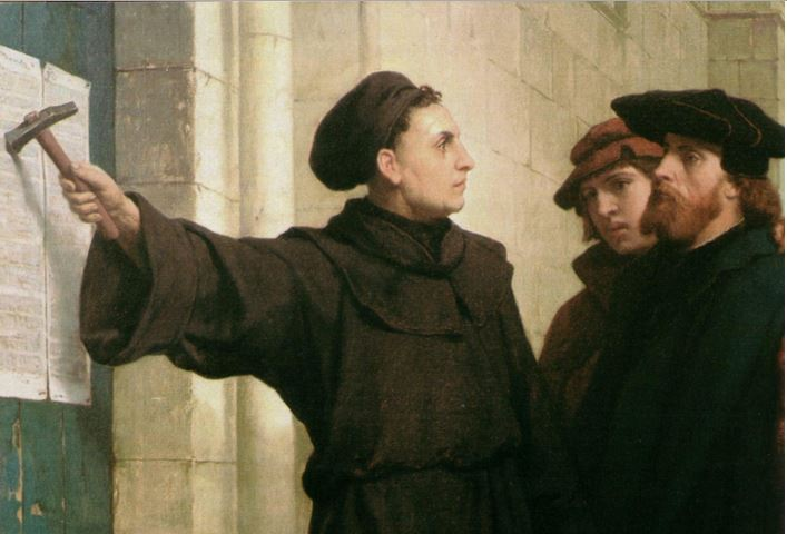 What are some reasons that Martin Luther was a conservative and some reasons he was a revolutionary?