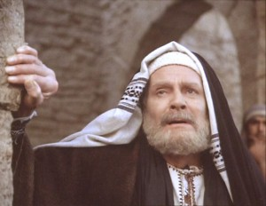 Nicodemus - played by Laurence Olivier. Remember the Jewish Leaders who loved and defended Jesus.