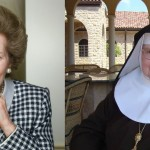Mother Angelica and Margaret Thatcher