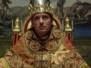 "Jude Law as Pius XIII in ""The Young Pope"""