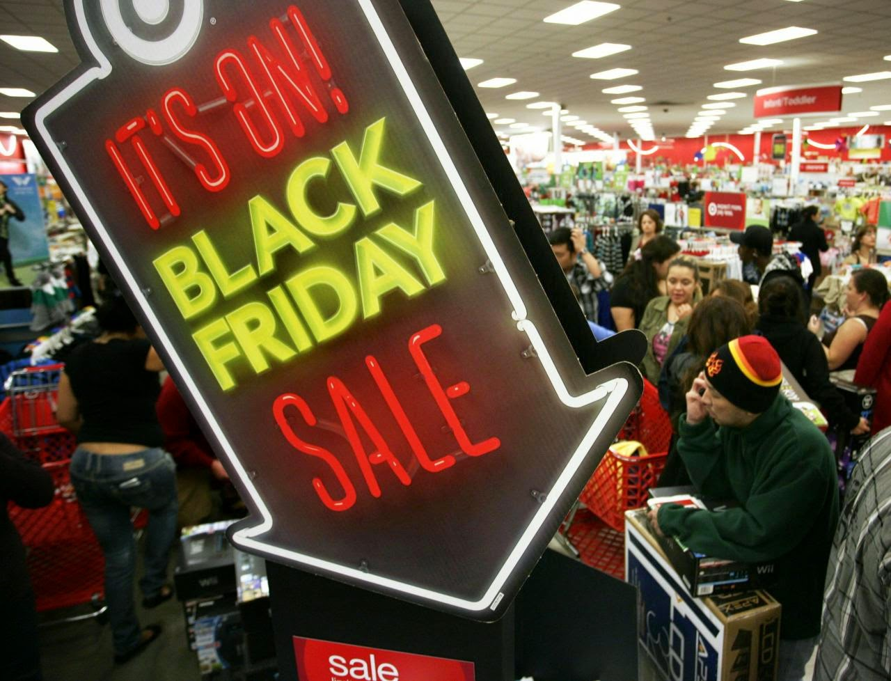 Black Friday and the threat of materialism...