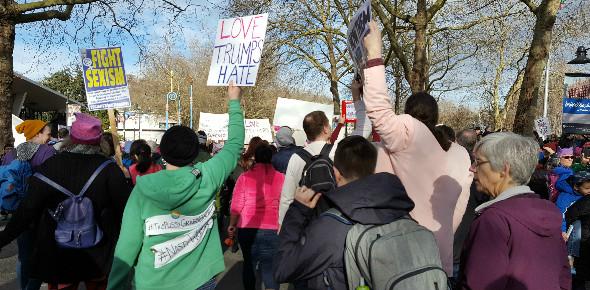 Womxn's March Seattle