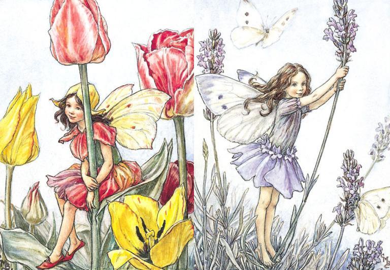 lavender tulip pagan wiccan fairies