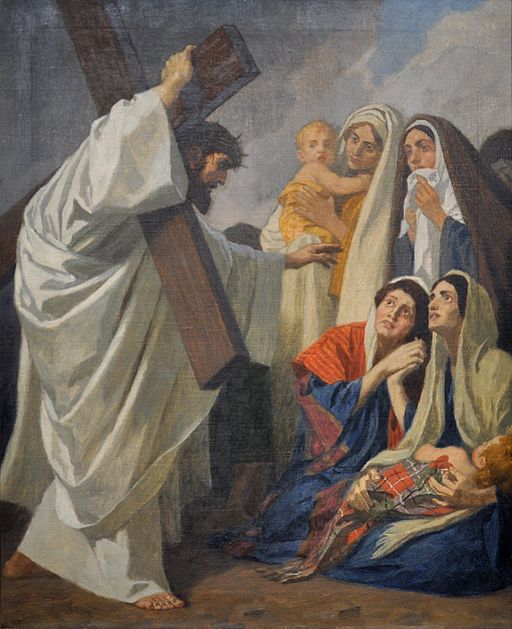 The Eighth Station: Jesus Consoles the Women of Jerusalem
