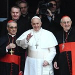 Pope Francis' first day on the job