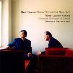 Pierre Laurent Aimard & Nikolaus Harnoncourt - Beethoven Piano Concertos Nos.1-5 - Front