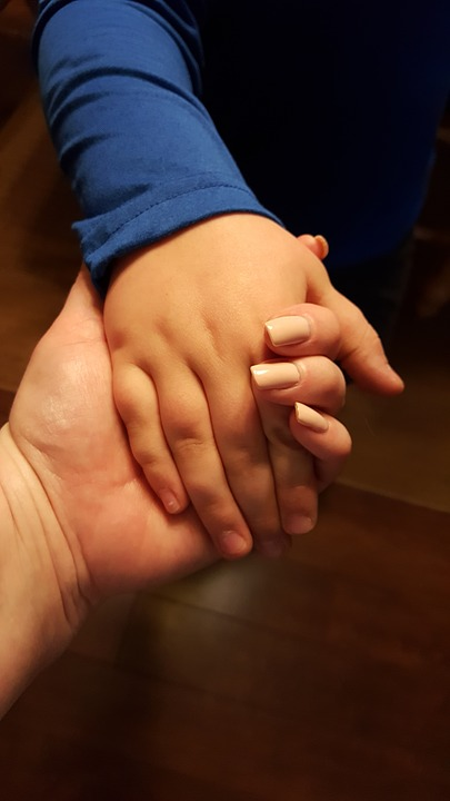 Hands Mother And Child Holding Hands Mother Love