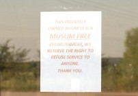 Muslim Free Sign