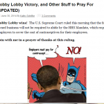 Two Things the Hobby Lobby Case Tells Us about Politics and Being Christian