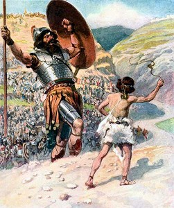 David and Goliath by James Tissot