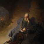 Jeremiah Lamenting the Destruction of Jerusalem (Rembrandt)