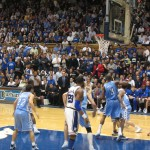 """Carolina-Duke basketball 2006 1"" by Bluedog423 at en.wikipedia. - Taken by Bluedog423.. Licensed under Public Domain via Wikimedia Commons - http://commons.wikimedia.org/wiki/File:Carolina-Duke_basketball_2006_1.jpg#mediaviewer/File:Carolina-Duke_basketball_2006_1.jpg"