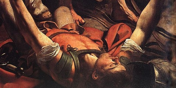 Saul on the Road to Damascus (Caravaggio, 1600, Public Domain, Wikimedia Commons)