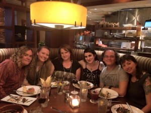 "Mystic South Dinner #2 with the ""super coven"" (yes, we jest)"