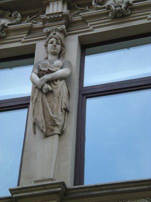 Judgmental Caryatid in Germany