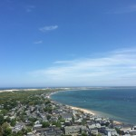Cape Cod from the Provincetown Monument