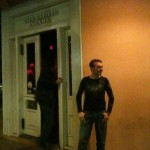 This was the day I came out, at Cafe Lafitte in Exile in New Orleans, Louisiana.