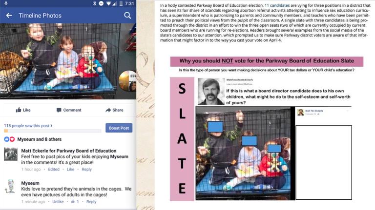 MassResistanceMO Kids in Cages Pic w original comparison