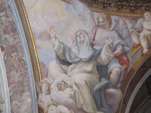 St. Catherine of Siena, Santa Sabina Basilica, Rome/Elizabeth Scalia