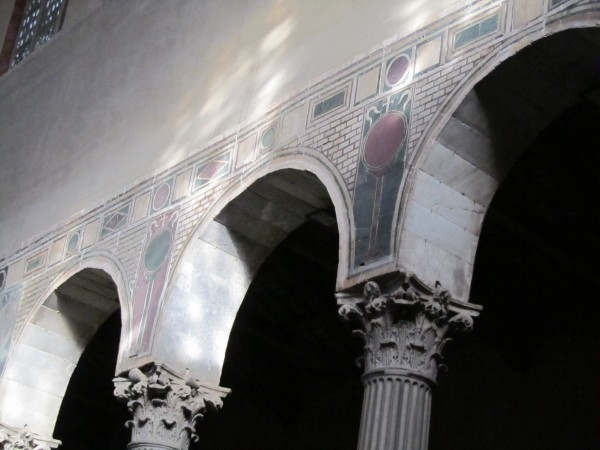 Arches at Santa Sabina, Rome/Elizabeth Scalia