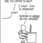 Internet Addiction, Spam and Comboxes