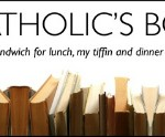 happy catholic bookshelf
