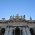 Rome St John Lateran September Sky