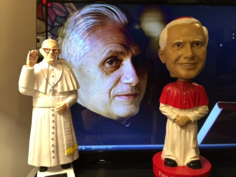 I take my popes very seriously.