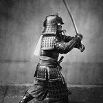 Samurai with Sword, Circa 1860