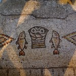 Israel Tabgha Loaves and Fishes mosaic