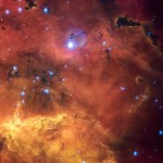 Star Nursery via Hubble royalty free