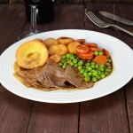 shutterstock roast beef dinner by photoed