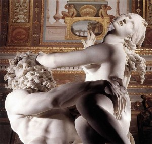 Bernini's Rape of Prosperpina, Via wikimediacommons