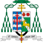 Coat of arms of John Clayton Nienstedt via Wikimedia Commons