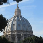 Dome of Saint Peter's Basilica/Elizabeth Scalia