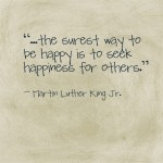 happiness MLK