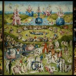 """The Garden of Earthly Delights, Bosch/Public Domain"