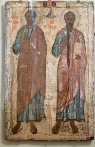 Icon of Saints Peter and Paul/Public Domain