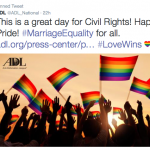 Jewish Reaction to Gay Marriage Decision