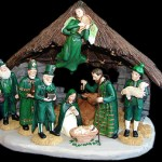 According to my nativity set Jesus was Irish, so there…