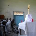 Eucharistic adoration at Kamiti Maximum Security Prison in Nairobi, Kenya…