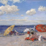 William Merritt Chase, At the Seaside ca. 1892