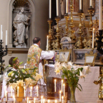 """Fr. Hunwicke celebrated his First Mass in the Old Rite at Brompton Oratory."""
