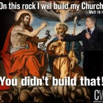 Who built the Church…